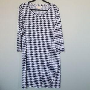 Michael Kors houndstooth dress XL